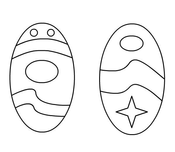 butterfly easter egg coloring pages - photo#44