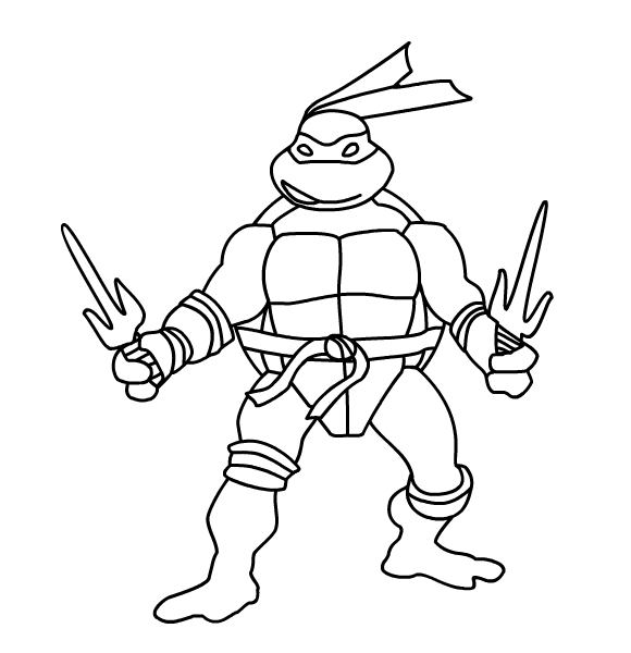 Ninja Turtles Raphael Rabbit