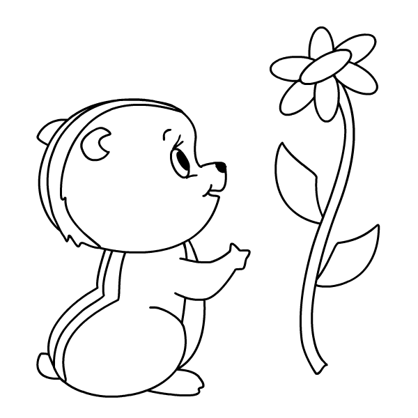 chipmunks coloring pages printable - photo#25