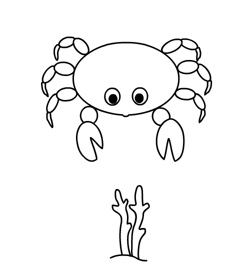see also ocean animals coloring game fish crab - Ocean Animals Coloring Pages